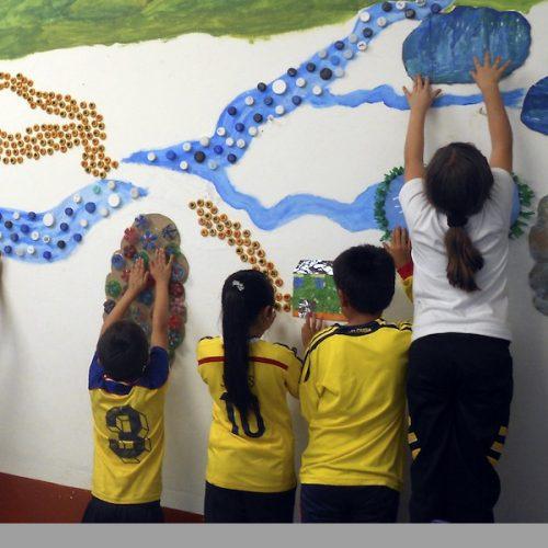 Empresa Privada y la Administración Municipal de Sonsón se unen para mejorar escuela rural
