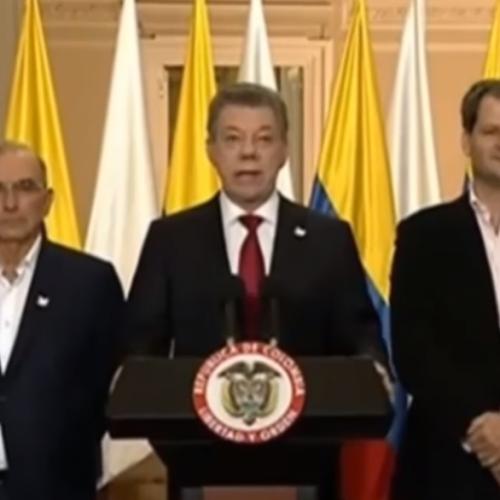 Santos convoca a partidos tras derrota del Sí en el plebiscito