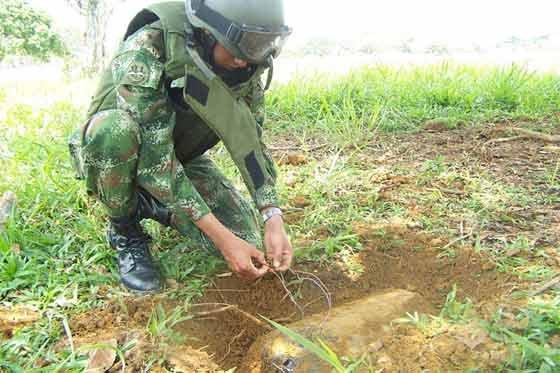 Photo of Nariño, Guatapé y La Unión, están libres de sospecha de minas antipersonal