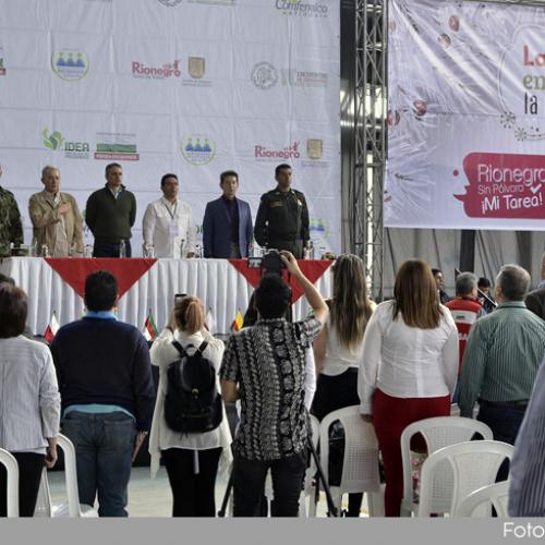 Se realizó en Rionegro el encuentro de dirigentes del Oriente Antioqueño