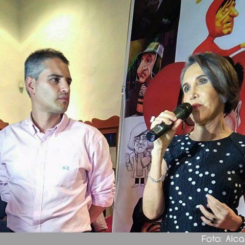 Con la presencia de Florinda Meza se dio inicio al Festival de Caricatura de Rionegro
