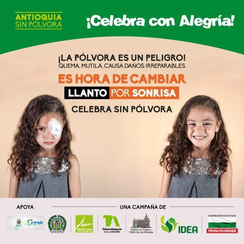 """Municipios del Oriente Antioqueño se une a la campaña """"Antioquia sin pólvora"""""""