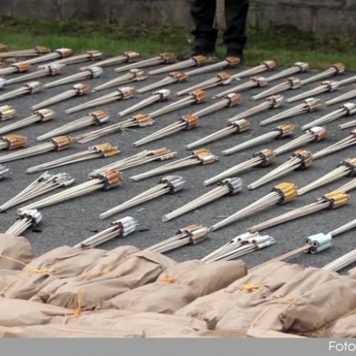 Autoridades incautaron en Rionegro una tonelada de pólvora