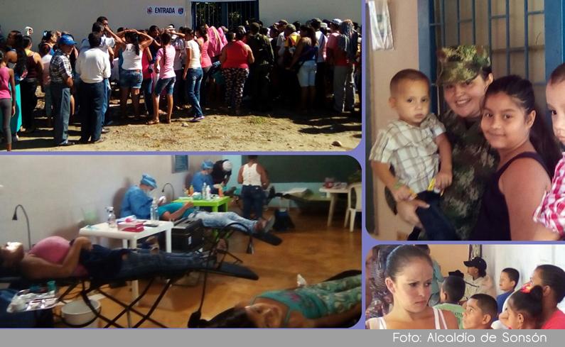 Photo of En Sonsón, 780 personas en situación de vulnerabilidad recibieron atención en jornada social y de salud