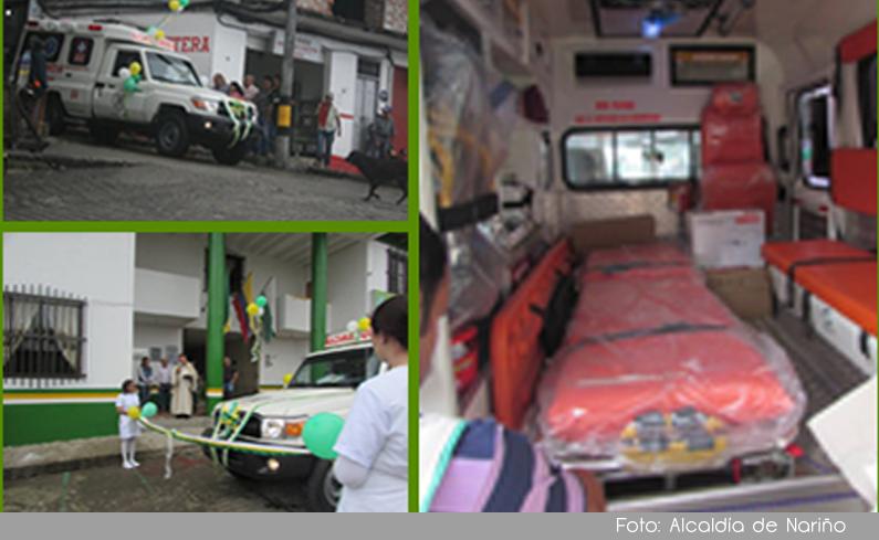 Photo of La comunidad del municipio de Nariño cuenta con una nueva ambulancia