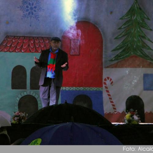 Con una noche llena de música, baile y color 200 artistas le dieron la bienvenida a la Navidad en Guatapé