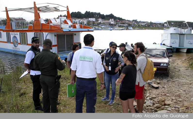 Photo of En Guatapé, se realizó jornada de inspección en los establecimientos turísticos