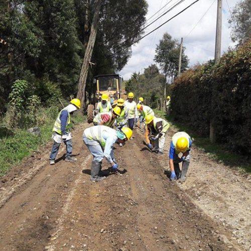 En el año 2017 en Rionegro se intervendrán cerca de 100 kilómetros de vías terciarias