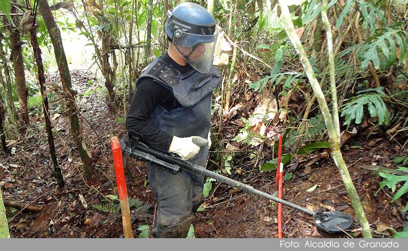Photo of En un 85% avanza el proceso de desminado humanitario en el municipio de Granada
