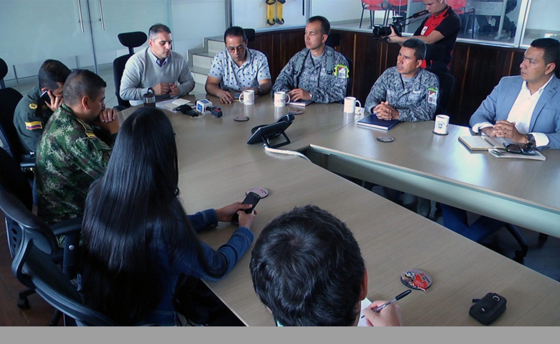 Alcaldía de Rionegro presentó primer balance de seguridad del año, con una reducción en todos los delitos en el municipio
