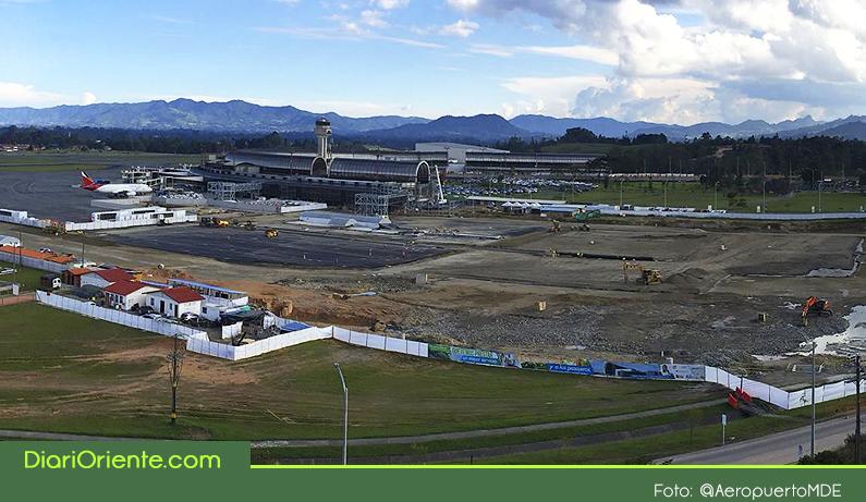 Photo of Los trabajos de modernización y ampliación del aeropuerto JMC de Rionegro avanzan en un 80%
