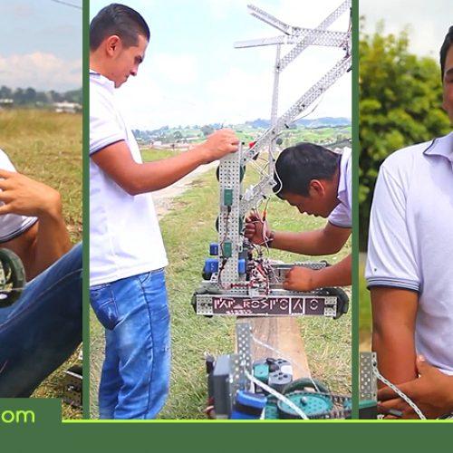 Jóvenes de La Unión, viajaron a EE.UU a representar el país en el mundial de robótica