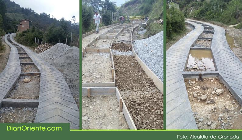 Photo of El municipio de Granada mejora sus vías terciarias con el sistema de placa huella