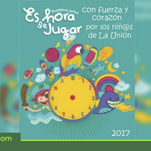 En abril en La Unión ¡Mi municipio un festival de juego! programación mes de la niñez.