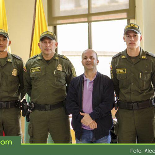 Para fortalecer la seguridad en Abejorral, llegan más policías al municipio