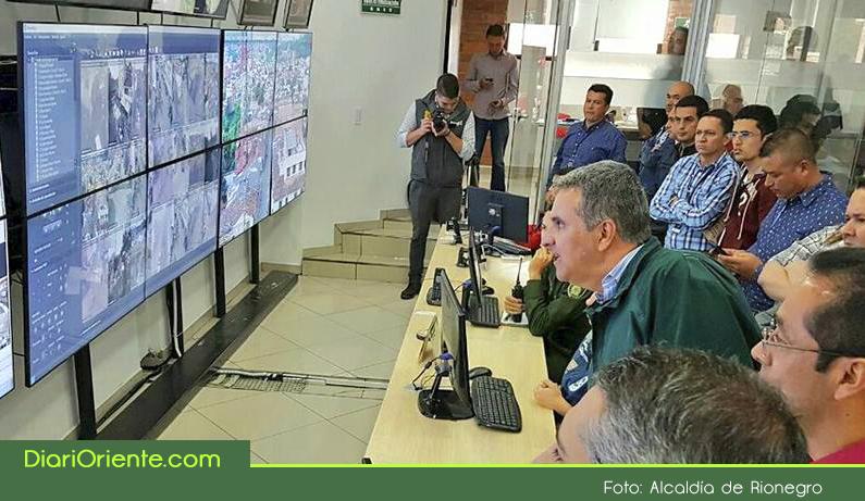 Photo of 56 nuevas cámaras de seguridad se instalaron en el municipio de Rionegro