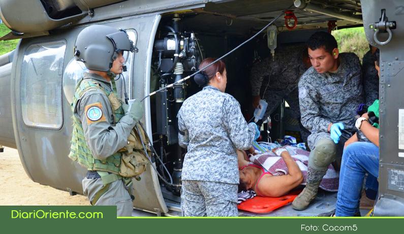 Photo of Fuerza Aérea evacuó heridos en accidente de tránsito presentado en la vía hacia Caicedo