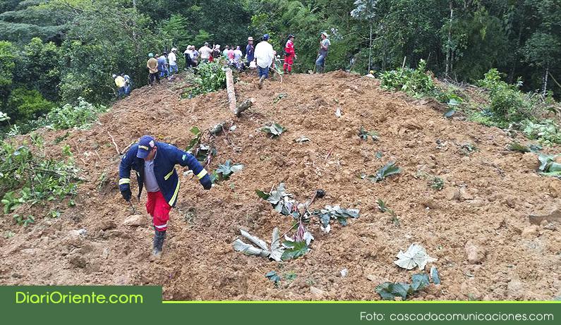 Photo of Tres personas desaparecidas por deslizamiento en una vereda de Cocorná