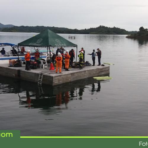 Más de 280 personas trabajaron en operación de rescate, atención y respuesta oportuna del naufragio en Guatapé