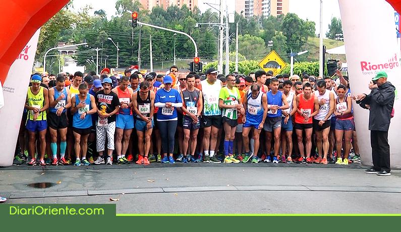Photo of Se llevó a cabo la media maratón de Rionegro que dejó como ganador al caldense William Naranjo