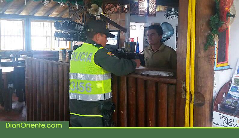 Photo of Autoridades realizaron jornada de control para hoteles, restaurantes y prestadores de servicios turísticos en Guatapé