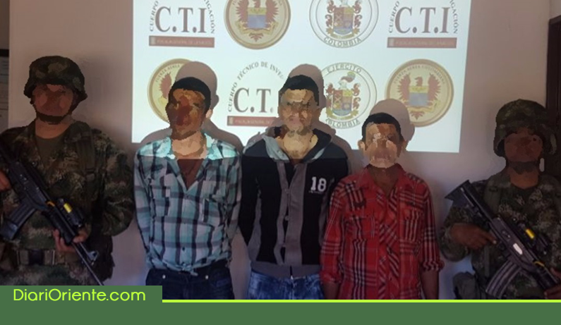 Photo of Capturan tres integrantes de la banda «Trianón» que delinquían en el Oriente Antioqueño