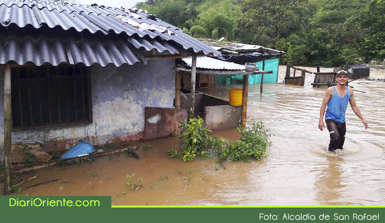 Photo of Emergencia en varios sectores del municipio de San Rafael por el desbordamiento del río Guatapé