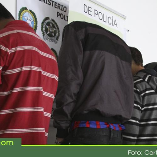 """Capturados 63 integrantes de la banda delincuencial """"La Piedra"""" que delinquían en El Peñol y Guatapé"""