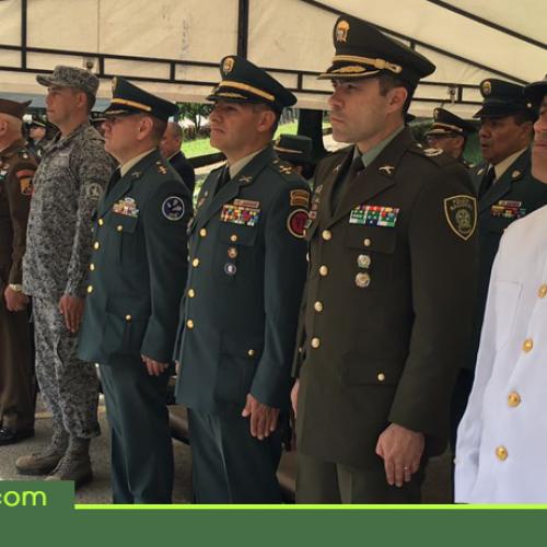 Sentido homenaje por parte de la Fuerza Aérea Colombiana a los héroes caídos en combate