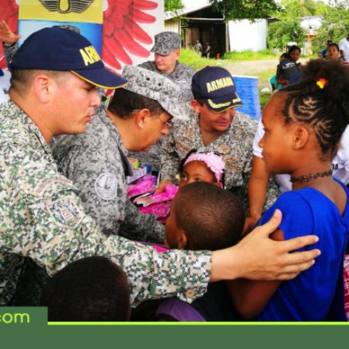 Con gran éxito la Fuerza Área Colombiana realizó Jornada de Apoyo al Desarrollo en el Chocó