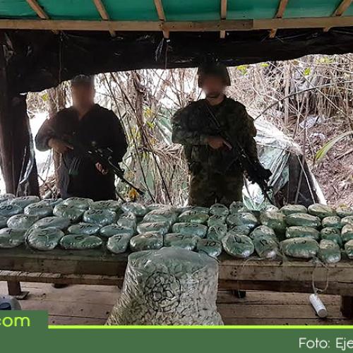 Autoridades desmantelaron en Concepción un megalaboratorio para el procesamiento de cocaína.