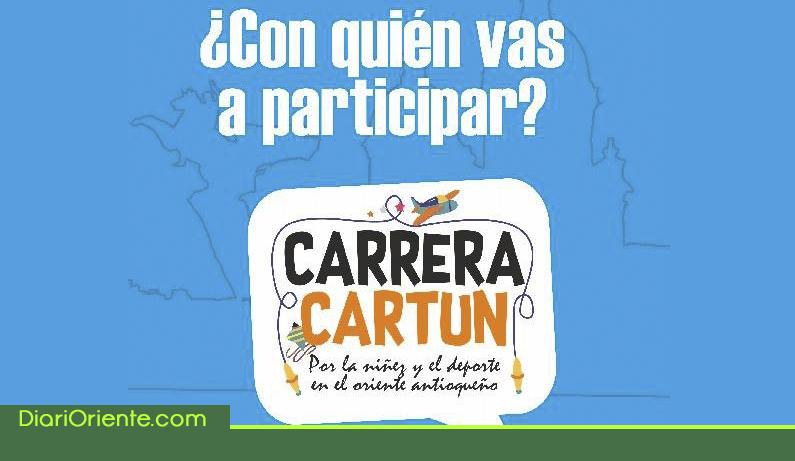 """Photo of Participa de la carrera """"Cartun"""" una iniciativa que apoya los niños y niñas de escasos recursos del Oriente"""