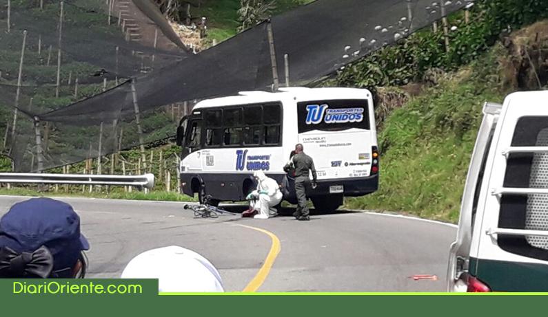 Photo of Joven ciclista carmelitana murió en accidente en la vía entre La Ceja y La Unión
