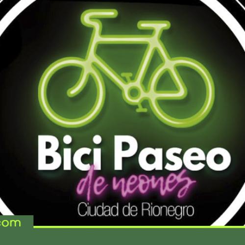 Este viernes es el Bici Paseo de Neones en Rionegro