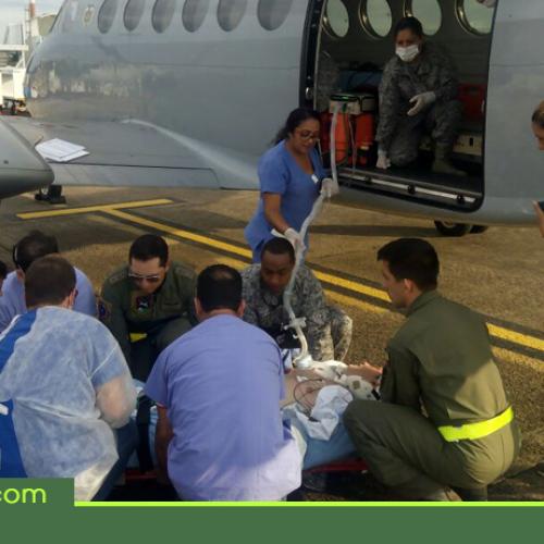Fuerza Aérea realizó traslado aeromédico humanitario desde Brasil