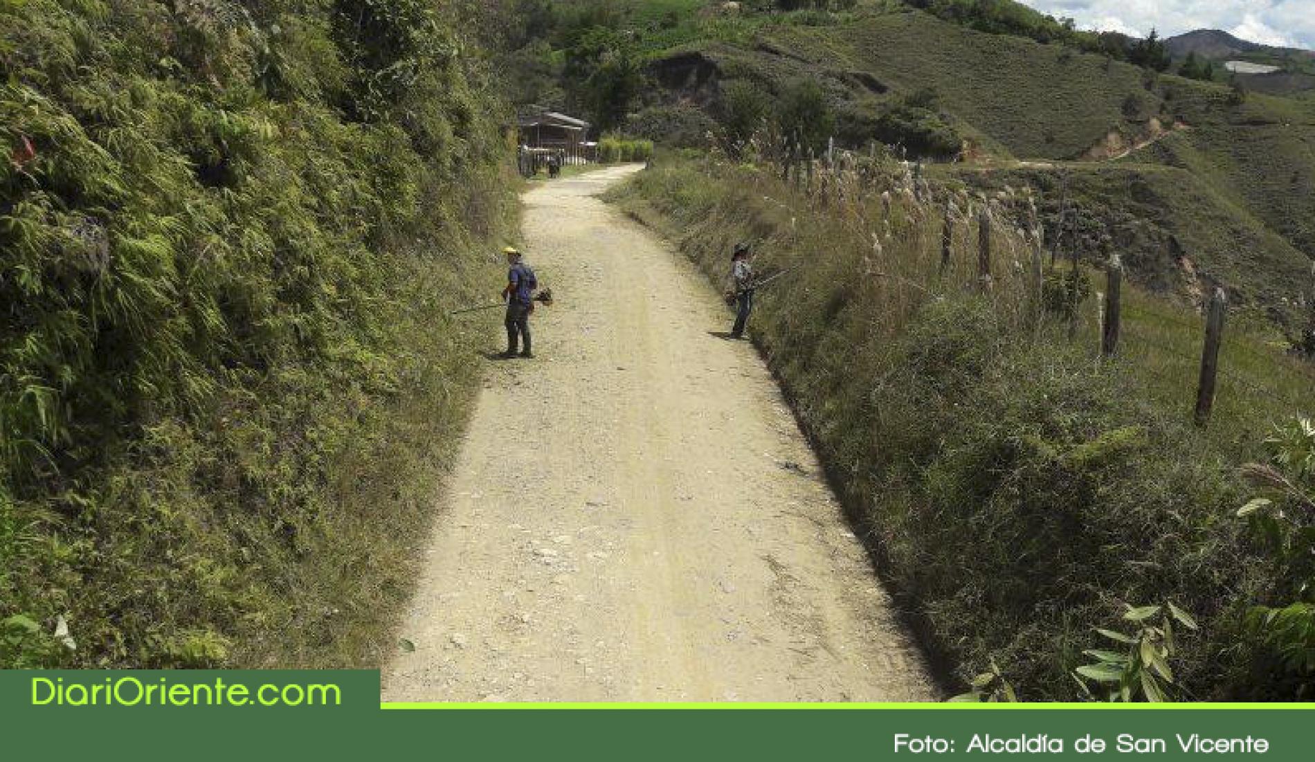 Recursos de venta de ISAGEN llegarán a San Vicente para mejorar las vías secundarias y terciarias