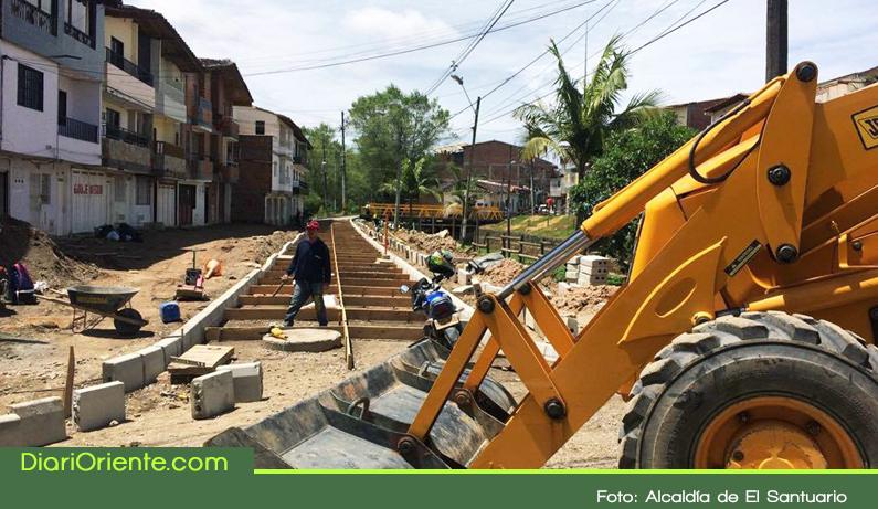 Photo of En El Santuario avanzan las obras para la recuperación del espacio público