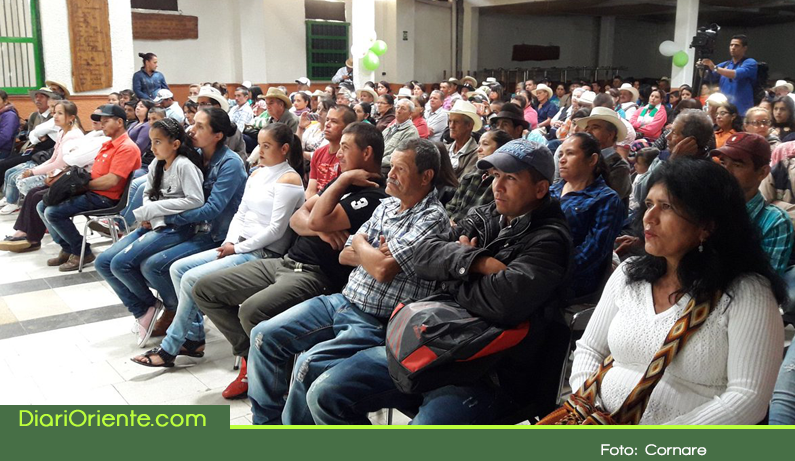 Photo of 300 familias campesinas de Sonsón, nuevos beneficiarios del proyecto Huellas y BanCO2