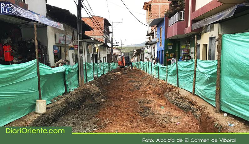 Photo of Avanzan obras de mejoramiento y recuperación de la malla vial en El Carmen de Viboral