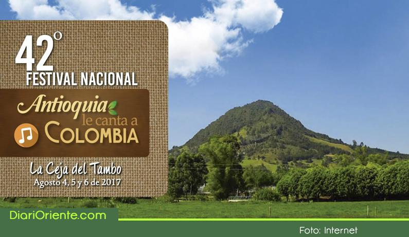 Photo of La Ceja se llena de melodía, tradición y mucha música andina, 42º Festival Antioquia le Canta a Colombia.