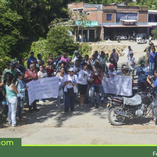 Caída de puente en San Carlos sigue sin solución, comunidad de el barrio Zulia y 23 veredas continúan afectados