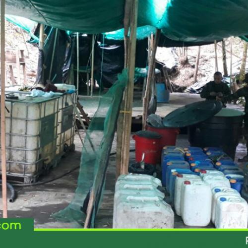 Desmantelan laboratorio de cocaína en el municipio de El Peñol