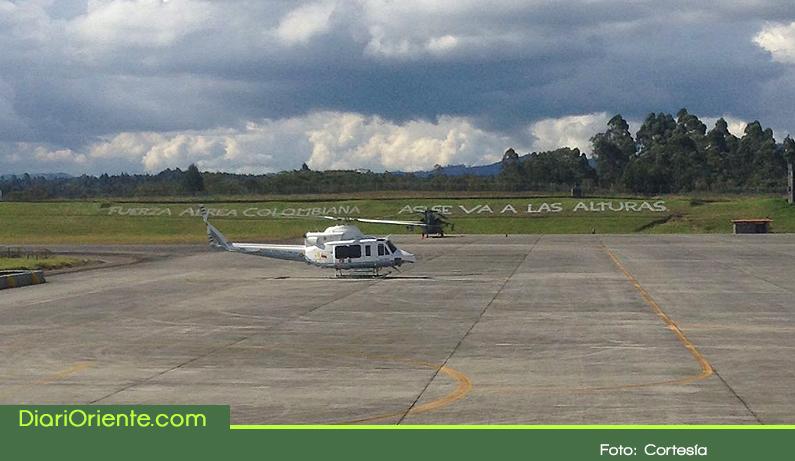Photo of Listo en Rionegro el helicóptero que transportara al Papa a Medellín
