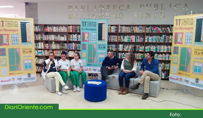 Photo of Para promover la lectura en Rionegro, llega la 11ª Fiesta del Libro y la Cultura.