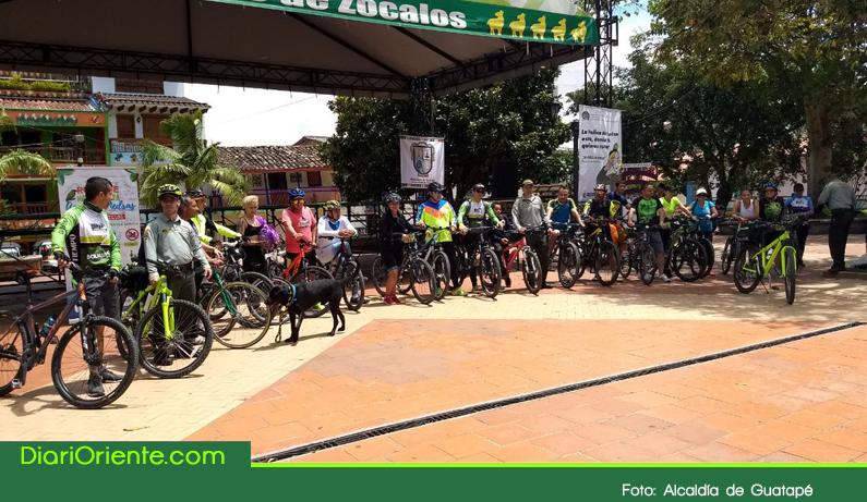 Photo of Con un ciclopaseo Guatapé se unió a la celebración del día internacional del turismo