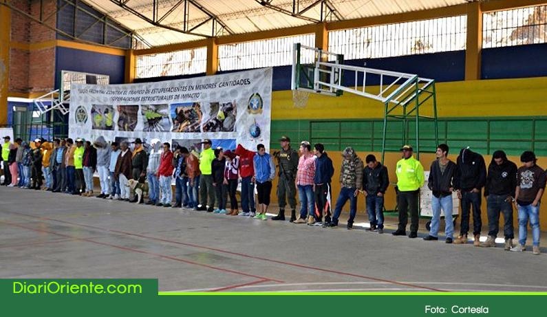 """Photo of Autoridades capturan a 28 miembros de """"La Oficina"""" peligrosa banda que delinque en el Oriente Antioqueño"""