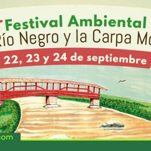 Este fin de semana primer festival ambiental del Río Negro y la Carpa Mona