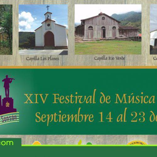 XIV Festival de Música Religiosa de Sonsón, del 14 al 23 septiembre