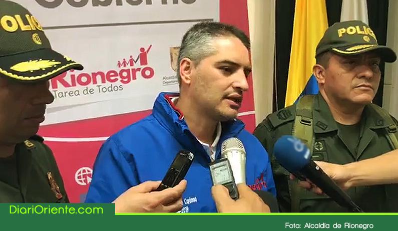 """Photo of Capturado alias """"El Gato"""", cabecilla de los Pamplona, peligrosa banda de Rionegro"""