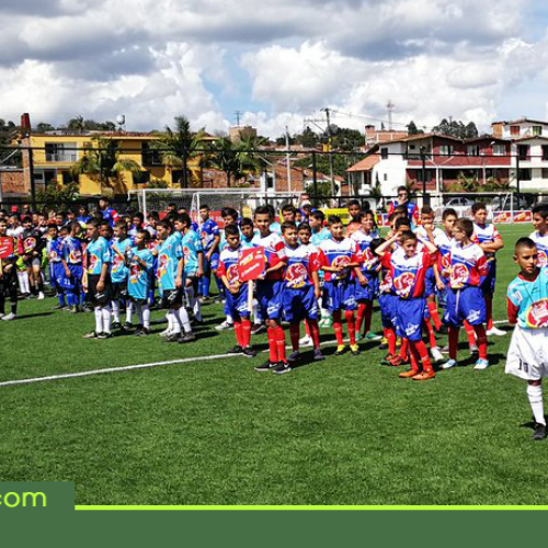 Inició en Rionegro el Festival Ponyfútbol Zonal Oriente